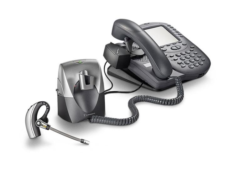 缤特力CS70N与电话机的连接图