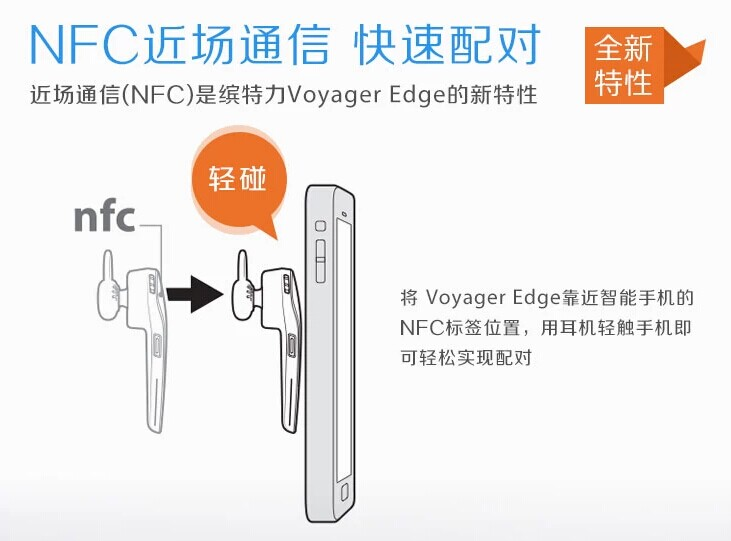 Voyager Edge Bluetooth
